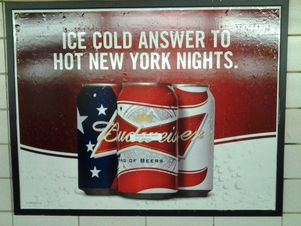 Busted Budweiser Ad